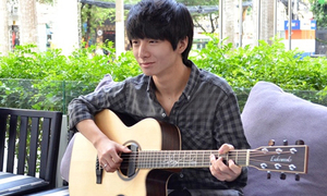 Thần đồng guitar Hàn là fan bự của G-Dragon