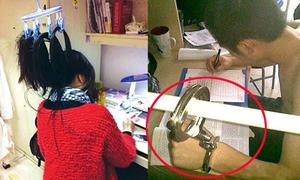 Học sinh Trung Quốc ôn thi 'bá đạo'