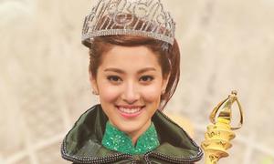 'Người đẹp gầy mo' đoạt vương miện Hoa hậu gốc Hoa