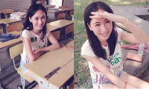 Nữ sinh đẹp ngang ngửa siêu mẫu Lâm Chí Linh