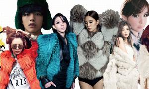 Sao Hàn lăng xê 4 kiểu mốt khó lỗi thời