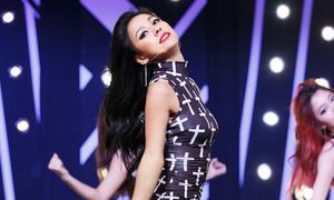 Trang phục sân khấu gợi cảm của Lee Hyori