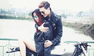 Min St.319 khoe ảnh yêu lãng mạn cùng Kiên Hoàng
