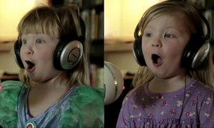 Bật cười với bản cover 'Let it go' của 2 nhóc tỳ