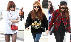 Style đa dạng của sao Hàn tuần qua