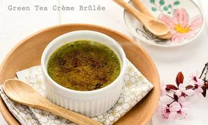 Cream trà xanh ngọt ngào đầu tuần