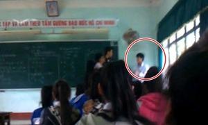 Video thầy trò đánh nhau trên bục giảng