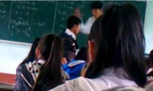 Thầy giáo thừa nhận thiếu kiềm chế khi đánh học trò