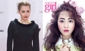 Park Bo Young đụng kiềng ngọc siêu bự với Miley