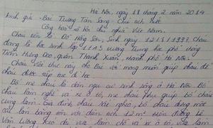 Nam sinh gửi thư cầu cứu Chủ tịch nước mong được đi học lại