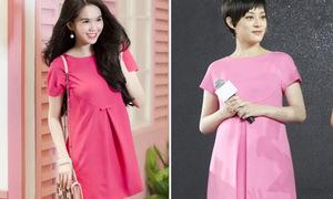 Ngọc Trinh bán váy na ná hàng hiệu Valentino