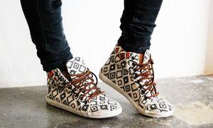 Làm mới giày sneakers thổ cẩm siêu cá tính