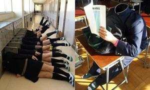 Muôn kiểu pose hình siêu quậy của học sinh Nhật