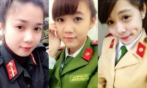 4 bóng hồng trường Cảnh sát 'đốn tim' giới trẻ