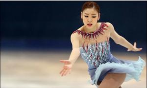 Nữ hoàng trượt băng Hàn rớt HCV, 1 triệu người đòi xét lại