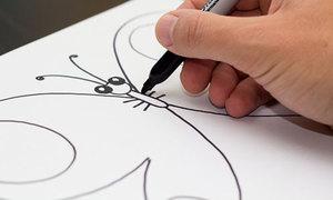 4 cách vẽ bướm xinh dễ thương