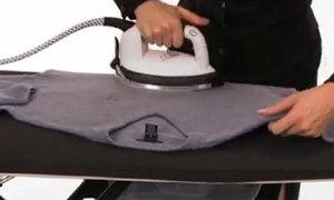 Tips: Cách là áo len dệt kim nhanh chóng