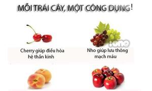 Mỗi trái cây, một công dụng