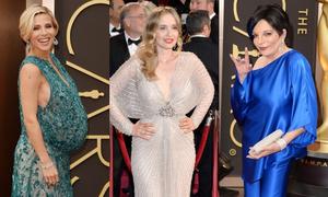 Loạt đầm bị chê tại Oscar 2014