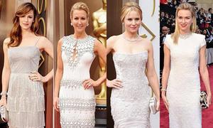 Váy màu nhạt thắng thế trên thảm đỏ Oscar 2014