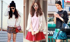 4 kiểu chân váy mê hoặc teen hè 2014