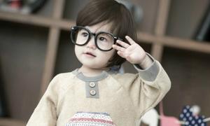 Bé 2 tuổi lai Hàn - Canada bụ bẫm cực yêu