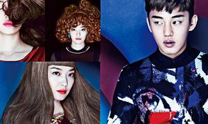 Shin Min Ah ma mị, Yoo Ah In lạ lẫm trên tạp chí