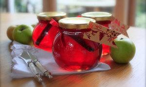 Thạch táo ngọt ngào cho ngày cuối tuần