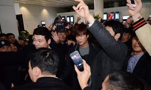 Fan nữ Trung Quốc đổ máu vì Lee Min Ho
