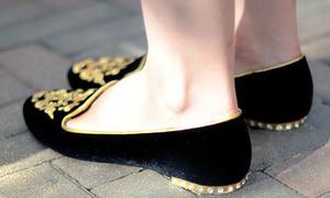 Dạo phố sành điệu với đôi giày búp bê bá tước