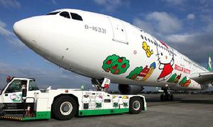 Máy bay Hello Kitty siêu dễ thương