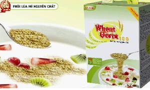 Bữa sáng dinh dưỡng với Wheat Germ 100