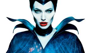 'Tiên Hắc Ám' Angelina Jolie môi đỏ mọng, mắt sắc