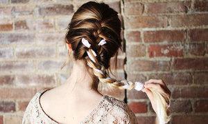 Nữ tính với cách tết tóc cơ bản kiểu Pháp