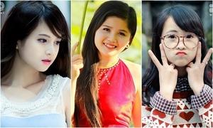 6 thiếu nữ Việt gây 'bão' Facebook đầu năm 2014