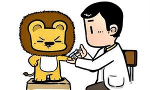 Fun pic: Khi các động vật đi tiêm thuốc