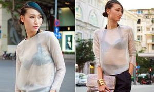 Hot or not: Trang Khiếu diện áo mỏng như sương