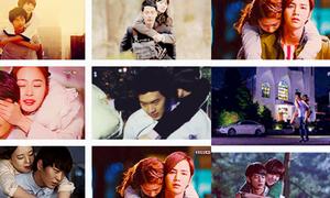 Những cảnh cõng đáng yêu trong phim Hàn
