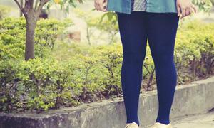 Phát sợ con gái chân to còn mặc quần bó