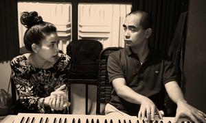 Hồ Ngọc Hà tái hợp nhạc sĩ Đức Trí