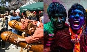 Lễ hội 'của quý', festival sắc màu khuấy động thế giới