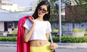 Hoàng Thuỳ chuẩn bị sang Nhật quay phim thời trang