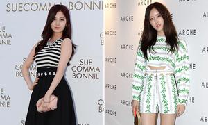 Idol Hàn đua nhau diện hot trend tại tuần thời trang