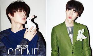 'Em trai màn ảnh' của Song Yi đẹp lạnh lùng trên tạp chí