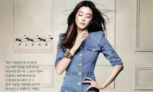 Jun Ji Hyun khoe vẻ đẹp không tuổi trên tạp chí