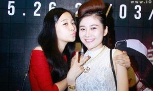 Tam Triều Dâng đọ xinh với chị gái