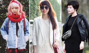 Street style ngày xuân của loạt blogger Việt nổi tiếng