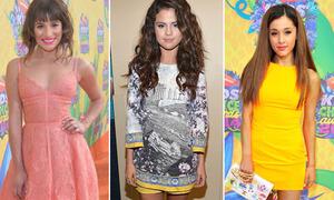 Sao teen nô nức khoe chân tại Kids' Choice Awards