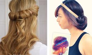 7 kiểu tóc nhanh gọn 'giải cứu' nàng tóc bết