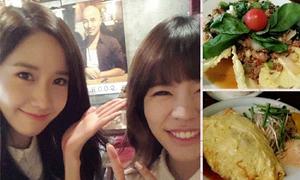Sao Hàn 1/4: Yoon Ah và Sunny khiến fan rớt nước miếng với tour ẩm thực Thái